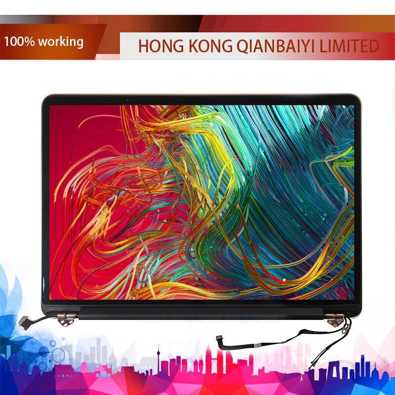 100% Nouveau A1502 Complète Assemblée D'écran Pour MacBook Pro Retina 13 Véritable LCD Assemblée 2015 Partie #: 661-02360