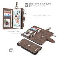 خمر حامل بطاقة المحفظة الحقيبة الهاتف حالات لتفاح iphone 8 7 6 6 ثانية/زائد حالة جلدية المغناطيسي لينة سيليكون تبو غطاء قذيفة