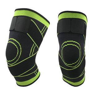 Men Women Knee Support Compression Sleeves Joint Pain Arthritis Relief Running Fitness Elastic Wrap Brace Knee Pads With Strap