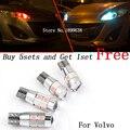 2 pcs seguro Nenhum erro Canbus luz T10 194 W5W LED de alto brilho para a Volvo XC60 V60 V50 70 C30 C70 S40 S60 S80 C90