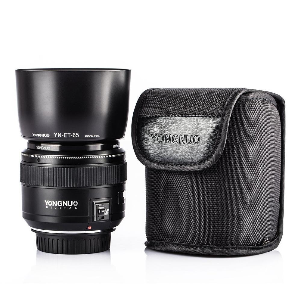 YONGNUO YN85mm F1.8 Lens Standard Medium Telephoto Prime fixed focus lens For Canon EF Camera 7D 5D Mark III 80D 70D 760D 650D micro camera compact telephoto camera bag black olive