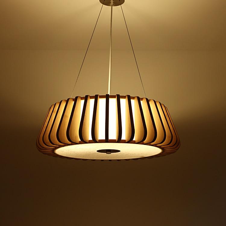 Creative pendant lamp meal lamp living room lamp Nordic atmosphere Japanese bamboo pendant lights bedroom lamp bamboo bedroom pendant lights balcony