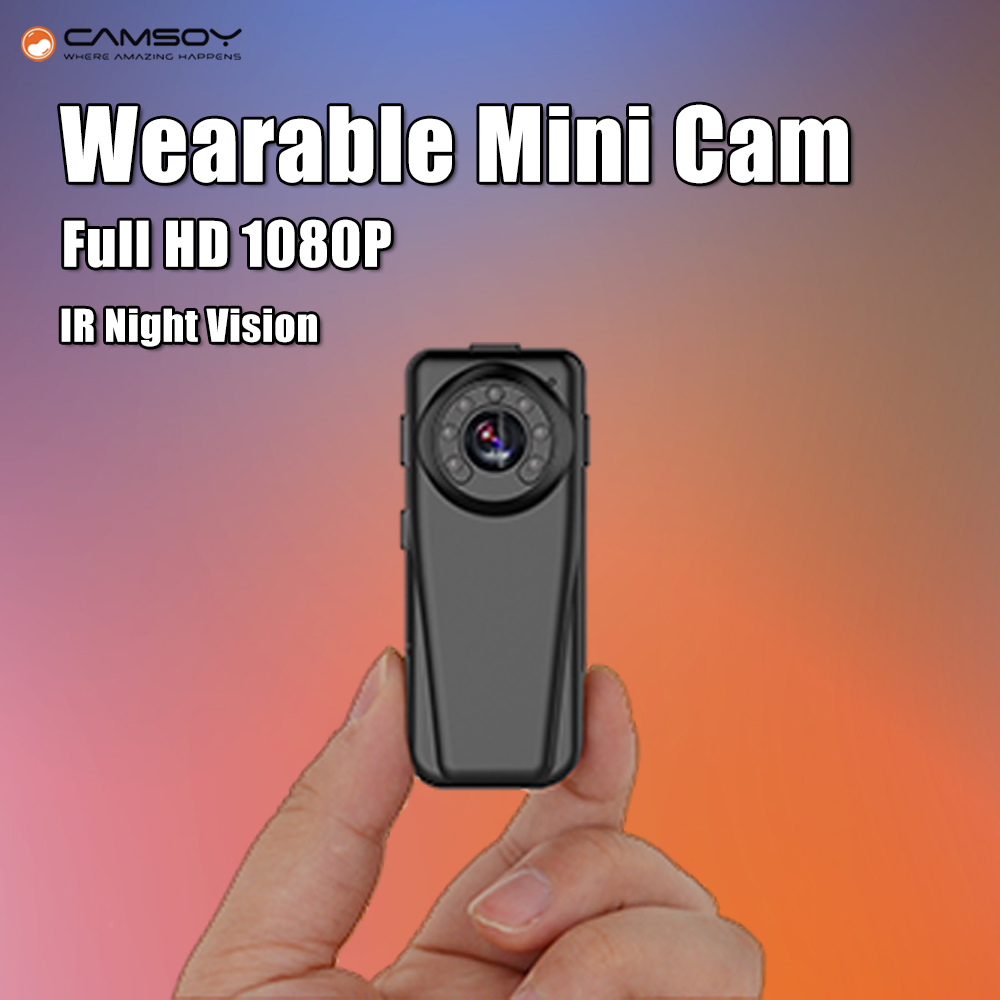 Full HD 1080P Mini Camera Infrared Night Vision Kamera Wide Angle Digital Voice Video Recorder DV