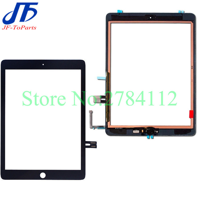 10Pcs Touch Planel replacement for iPad 6 2018 6th Gen A1893 A1954 touch screen digitizer front lcd outer glass with Adhesive