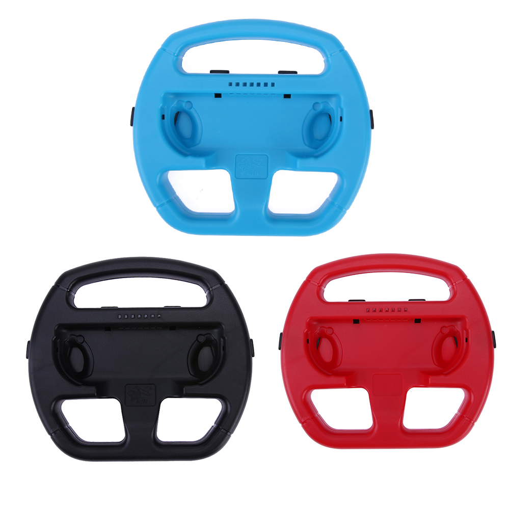 Racing Car Game Steering Wheel Controller Game Console Steering Wheel Bracket Game Control for Nintendo Switch Joy-Con