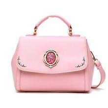 Hohe Qualität Vintage Casual Leder Handtaschen Aushöhlen Damen Partei Geldbörsen Handtasche Frauen Messenger Schulter Crossbody Taschen