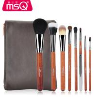 8 Pcs Sof Taklon Hair Makeup Brush Set High Quality Professional Makeup Brushes Synthetic Kabuki Brush