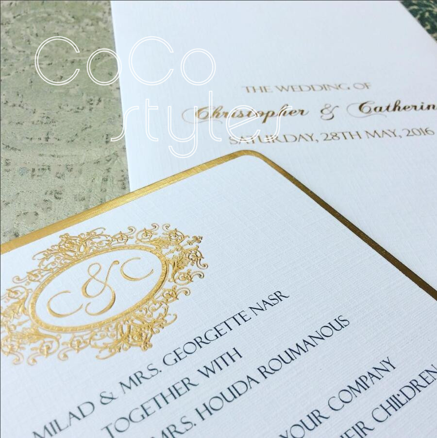 Buy Wedding Invitations: Aliexpress.com : Buy Cocostyles Personalized Elegant