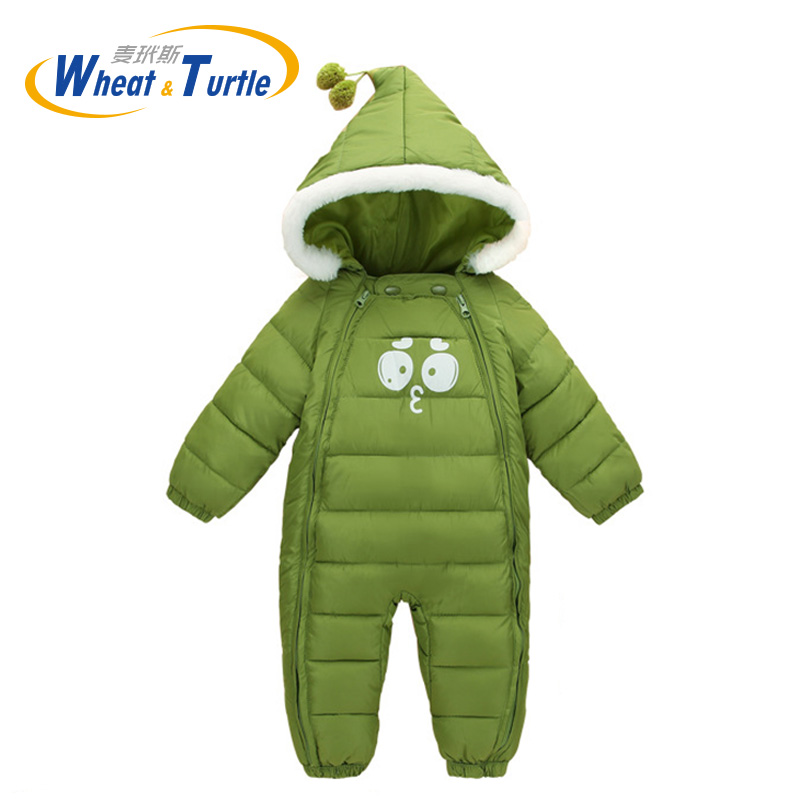 Mother Kids Baby Clothing One-Pieces Rompers Infant Hooded Jumpsuit Cotton Boys Girls Playsuits Hooded Clothes Glove Shoes Suit newborn baby girls rompers 100% cotton long sleeve angel wings leisure body suit clothing toddler jumpsuit infant boys clothes
