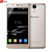 Blackview P2 Smartphone 4GB RAM 64GB ROM Android 6.0 Cell Phone MT6750T Octa Core 5.5 inch FHD IPS 6000mAh 13MP Cam Mobile Phone
