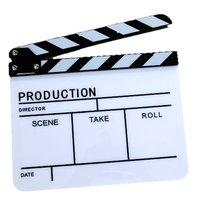 슬레이트 높은 다섯 텔레비전 필름 좋은 품질 블랙 바 아크릴 높은 bangzi 필름 슬레이트-조절 볼트
