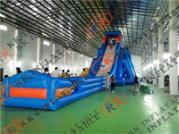 2018 Hippo Commercial Cheap Giant Inflatable Water Slip N Slide For Adult