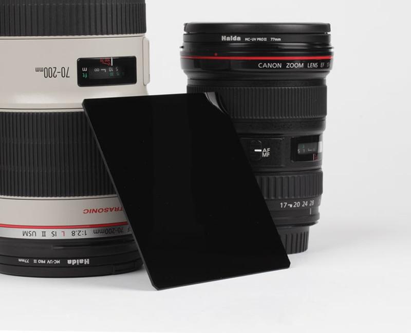 100x100mm Cuadrado ND3.0 1000x ND1000 Densidad neutra Filtro de lente - Cámara y foto - foto 2