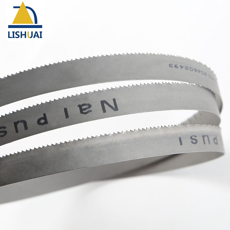 Image 3 - (Length Customized)1000 3000mm*13mm*0.65mm Wood Cutting&Metal Cutting M42 8/12Tpi 6Tpi 14Tpi Bimetal Band Saw Blades-in Saw Blades from Tools