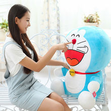 Free Shipping Japanese Anime Doraemon toys cat stuffed animal doll doraemon plush toy doll Best Gift for Children's day