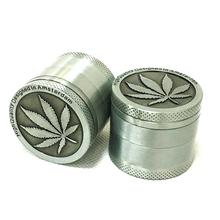 Grinder 40mm 61mm 4levels Zinc Alloy High Quality Herb Tobacco Smoke Crusher Accessories