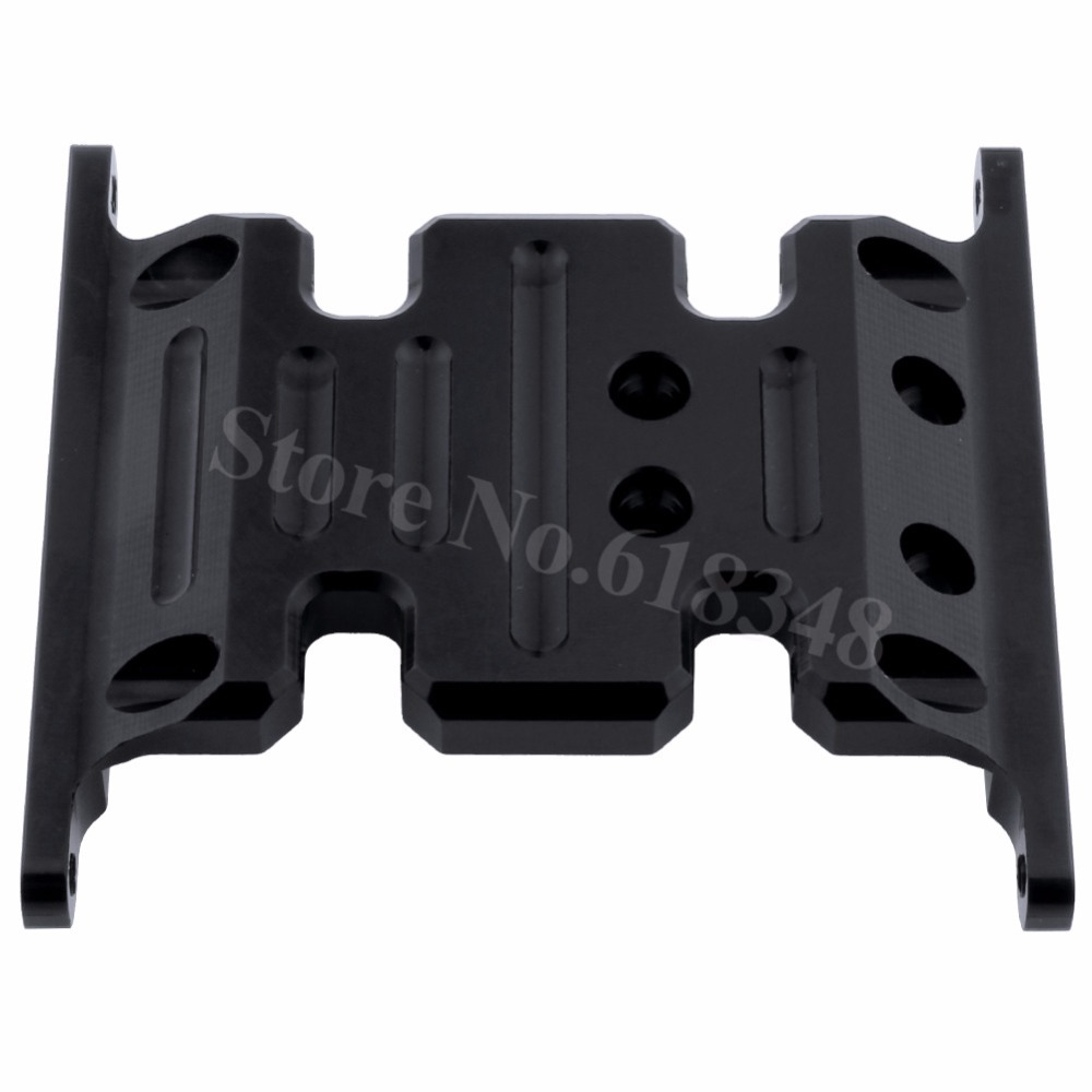 Metal Aluminum Alloy Center Skid Plate For Axial SCX10 Rock Crawler 1/10 RC Hobby Car Parts Hop Up Parts mxfans 23 pieces alloy upgrade set spare parts for rc 1 10 axial rock crawler