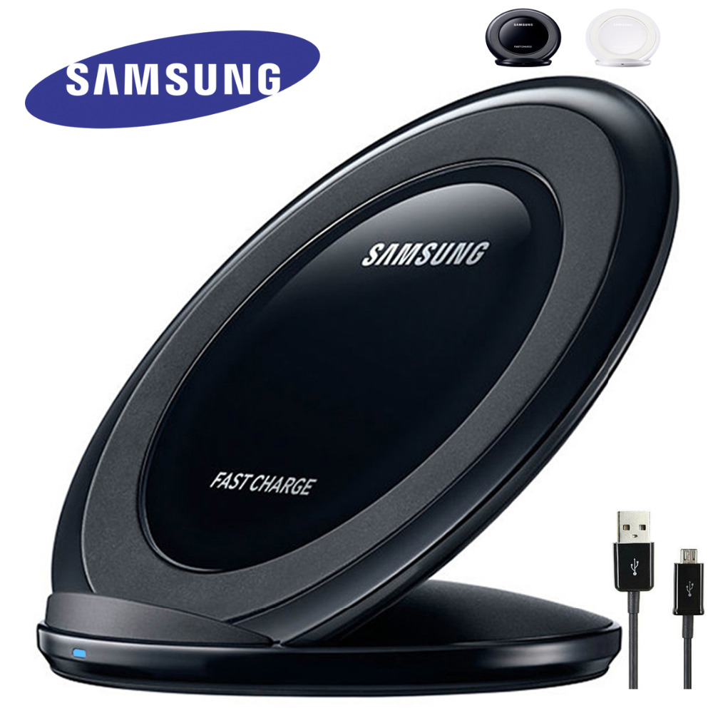 QI Fast wireless Charger Samsung Original for Phone for Samsung Galaxy S8 G9500 G9300 G9508 S6 S7 Edge  wirless charger EP-NG930