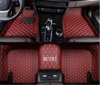 Good quality & Free shipping! Custom special floor mats for Skoda Fabia 2014-2008 non-slip wear-resisting carpets for Fabia 2010