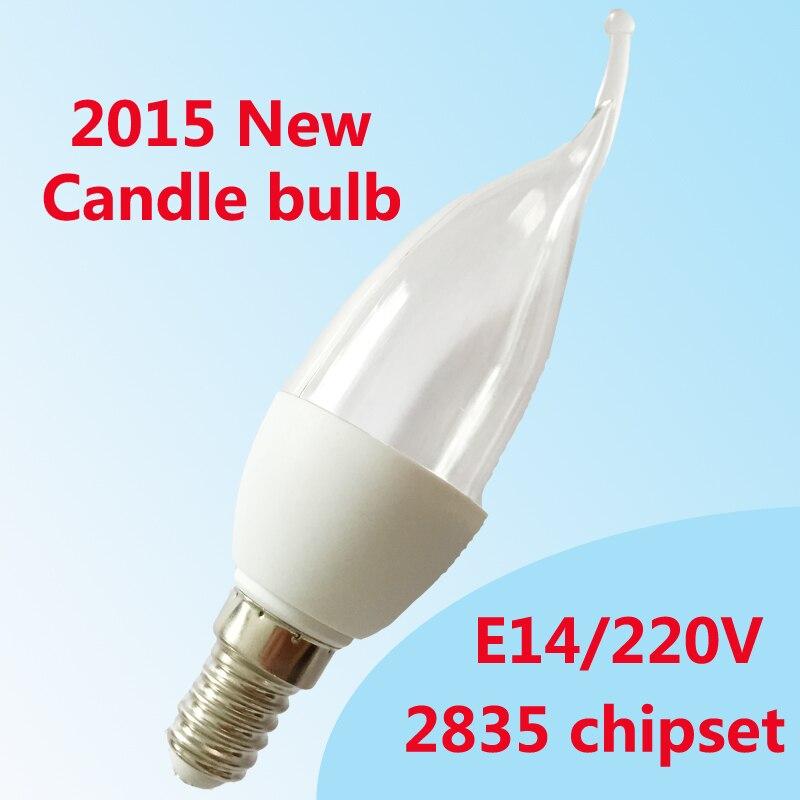 led bulb E14 2835SMD 5w led candle light led lamp Warm White Cool White AC220V-240V Chandelier Spotlight for wholesale led gold deco chandelier bulbs candle light e14 85 265v 5w lamps