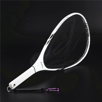 Hi.Whale high carbon frame fly fishing dip net strong and light hand net fishing tackle fishing nets