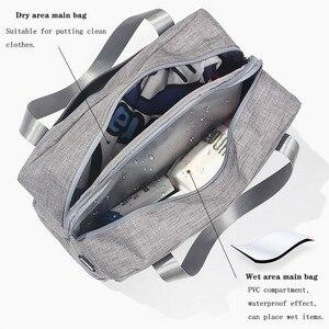 Image 5 - Sac de rangement imperméable, sac de natation sec et humide, sac à chaussures de plage, sac de rangement de voyage vêtements de toilette organisateur de Fitness