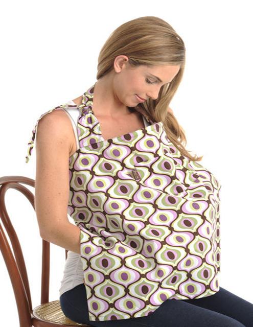 Cubierta de La Lactancia Materna de Enfermería de algodón