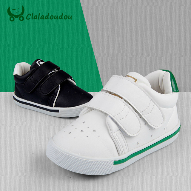 Baby shoes girls boys toddler casual sneakers new born solid white black PU leather shoes infant first walker for 1-5Year  XZ48