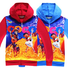 EMS/DHL Free shipping 2017 New Dream to cartoon wholesale coat children Cardigan Sweater Hoodie