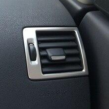 Нержавеющая сталь боковой кондиционер вентиляционное отверстие AC декоративная рамка выпускного отверстия крышка планки для Volvo C30 S40 V50 C70