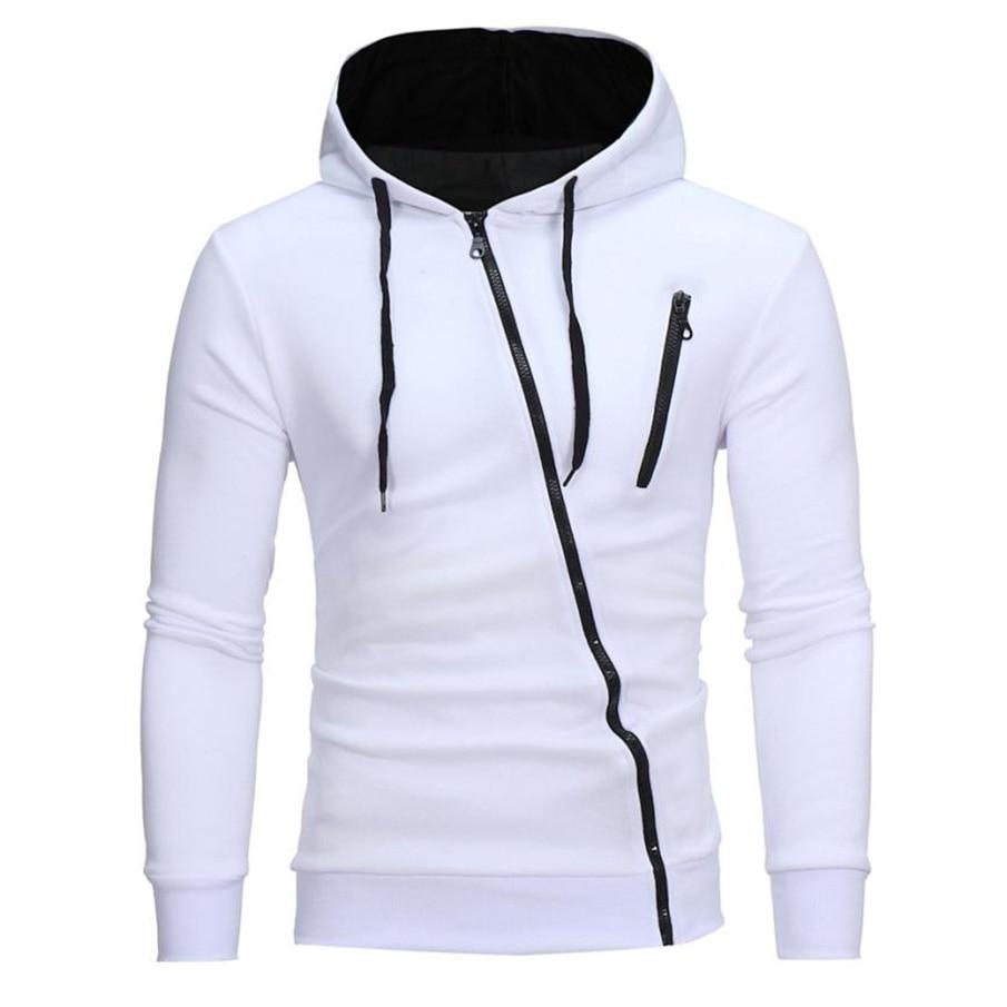 MUQGEW 2017 Herbst Mode Lässig Solide Hoodies Männer/frauen Polluver Sweatshirt Männer Kapuzenpullover Pullover Reißverschluss Bluse Plus Größe