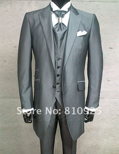 groom and groomsmen!custom made suit 2015 new style ,three-piece suits free shipping
