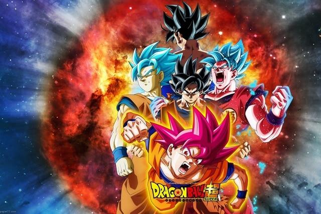 Anime puissant Dragon Ball Super DBS japonais manga l\'asie Living ...