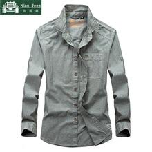 2018 Brand Shirt Men Casual Shirts 100% Cotton Long Sleeves Mens Shirt