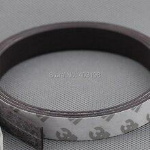 3 м самоклеющаяся гибкая магнитная лента 3 м резиновая магнитная лента ширина 10 мм толщина 2 мм
