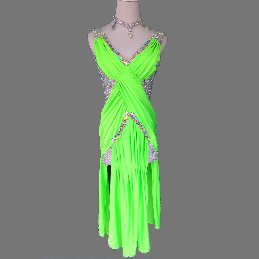 Uus stiilis ladina tantsu kostüüm Ladina tantsukleit latin tantsu kleit naiste latin tantsu kostüümidele