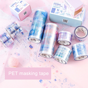 1 Roll/pc PET Clear Washi Tape