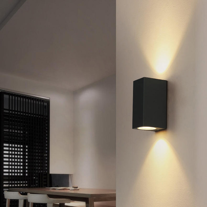 Wall Light Amazon: 10pcs/lot Outdoor Wall Light Up And Down 6W Waterproof