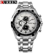 New2016 curren montres hommes Top marque montre de mode montre à quartz homme relogio masculino hommes armée sport montre analogique Casual 8023