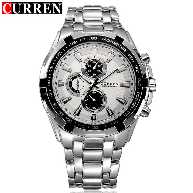 NEW2016 curren watches men Top Brand fashion watch quartz watch male relogio masculino men Army sports Analog Casual watch 8023
