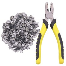 Chicken Quail Bird Rabbit Pet Cage Installation And Repair Tool Catch The Clamp Pliers Bayonet Nail 300 Nails 1 Pliers