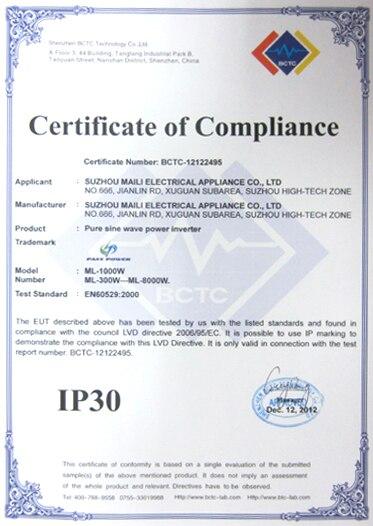 Высококачественный 1500 Вт адаптер инвертора питания DC 12 V AC 220 V автомобильный инвертор