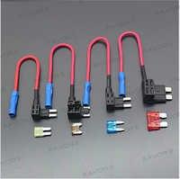 Micro Micro2 mini Medium Standard klinge sicherung low profil MINI Blade Fuse halter Auto Auto für schnell und schnell zu installieren sicherung TAP