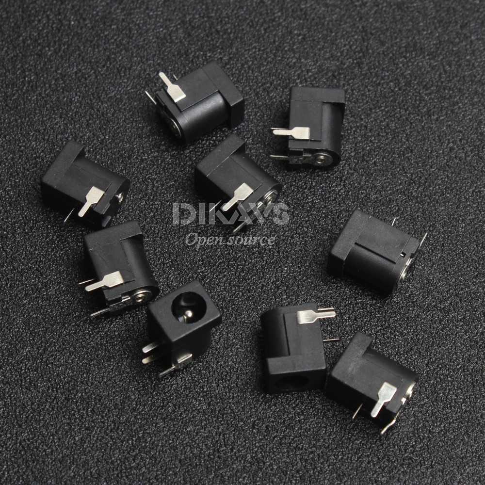10pcs Breadboard-friendly 2.1mm DC Barrel Jack ...