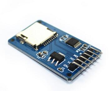 10pcs/lot Micro SD card mini TF card reader module SPI interfaces with level converter chip for arduino Connector