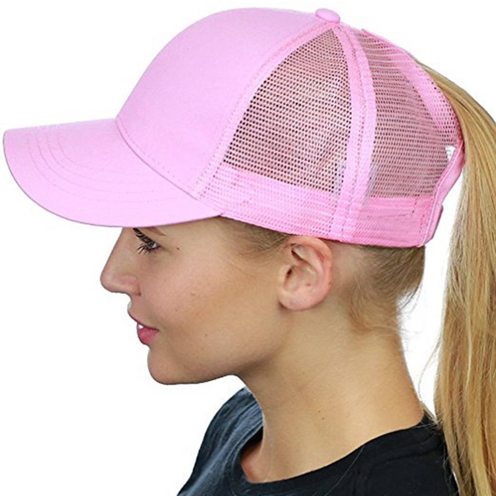 Summer Mesh Unisex Sun Hats Fashionable Breathable Caps Net Style Adjustable 6 Solid Colors For Chossing Sun Hats Yi0 New Varieties Are Introduced One After Another