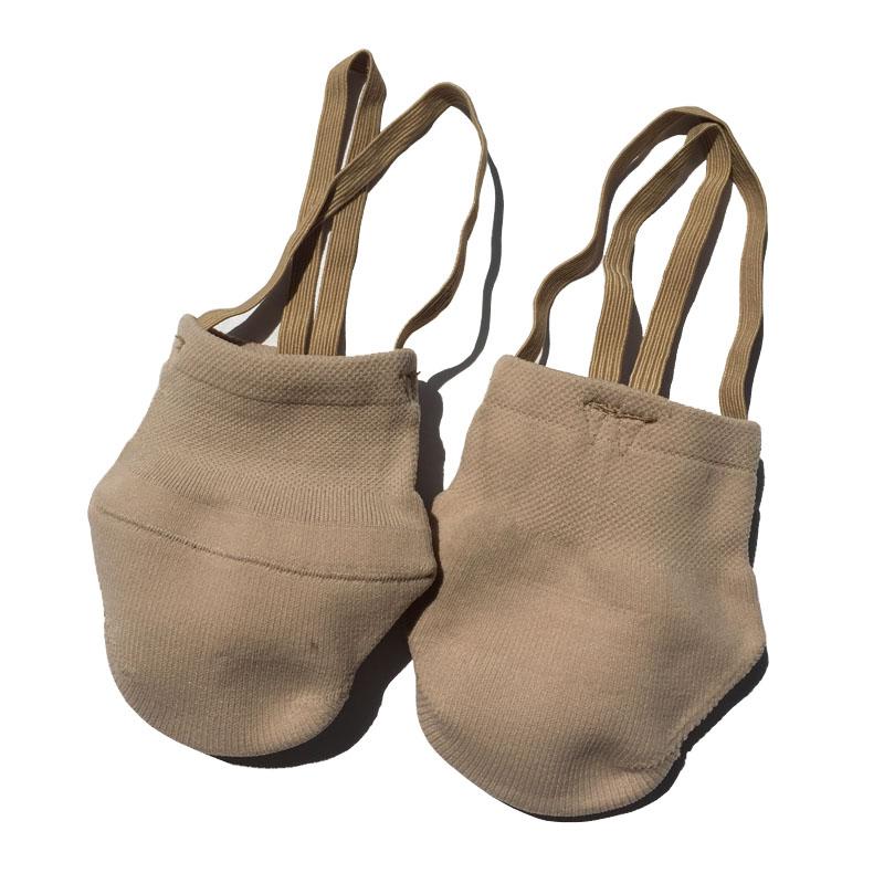 Rythmique Gymnastique Chaussures Doux Demi Chaussettes Salle De Bal Art Gym  Accessoires Ginástica Élastique Chaussures De 5f1b215d18e