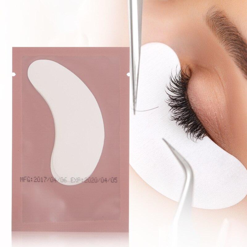 10pairslot New Paper Patches Eyelash Under Eye Pads Lash Eyelash