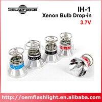 Solarforce IH 1 3.7 v Xenon Lâmpada de Gás Módulo refletor bulb flat xenon motorsxenon hid headlight bulb -