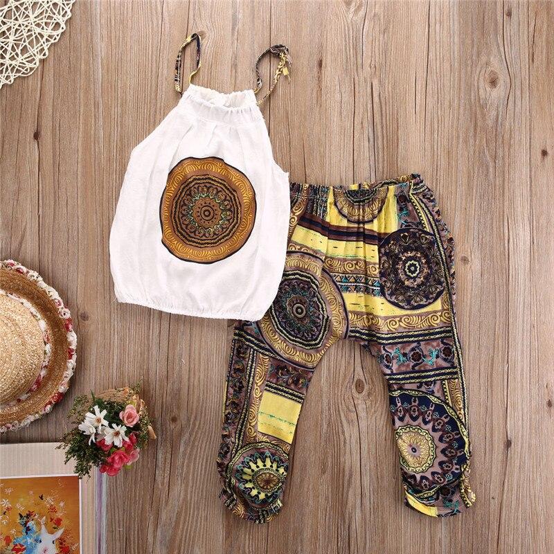 pudcoco 2pcs Kids Baby Girls Clothes Set Children Clothing